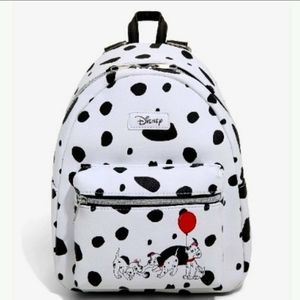 NWT Loungefly Disney's 101 Dalmatians Mini Backpac